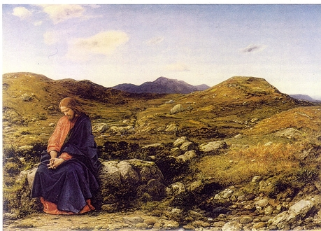 Christ as The Man of Sorrows by William Dyce (1806-1864)