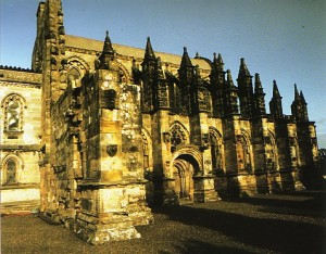"Rosslyn Chapel © Copyright ""The Friends of Rosslyn"""