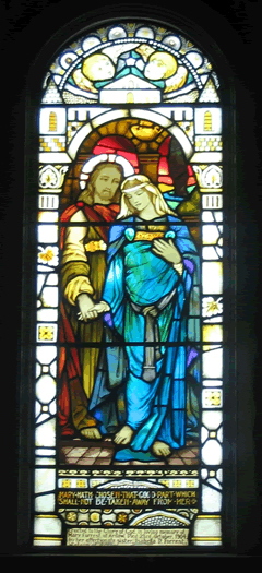 Jesus and Mary Magdalene, Kilmore Church