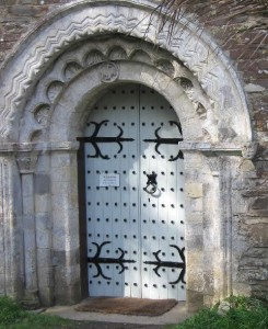 South door of St. Anthony in Roseland Church